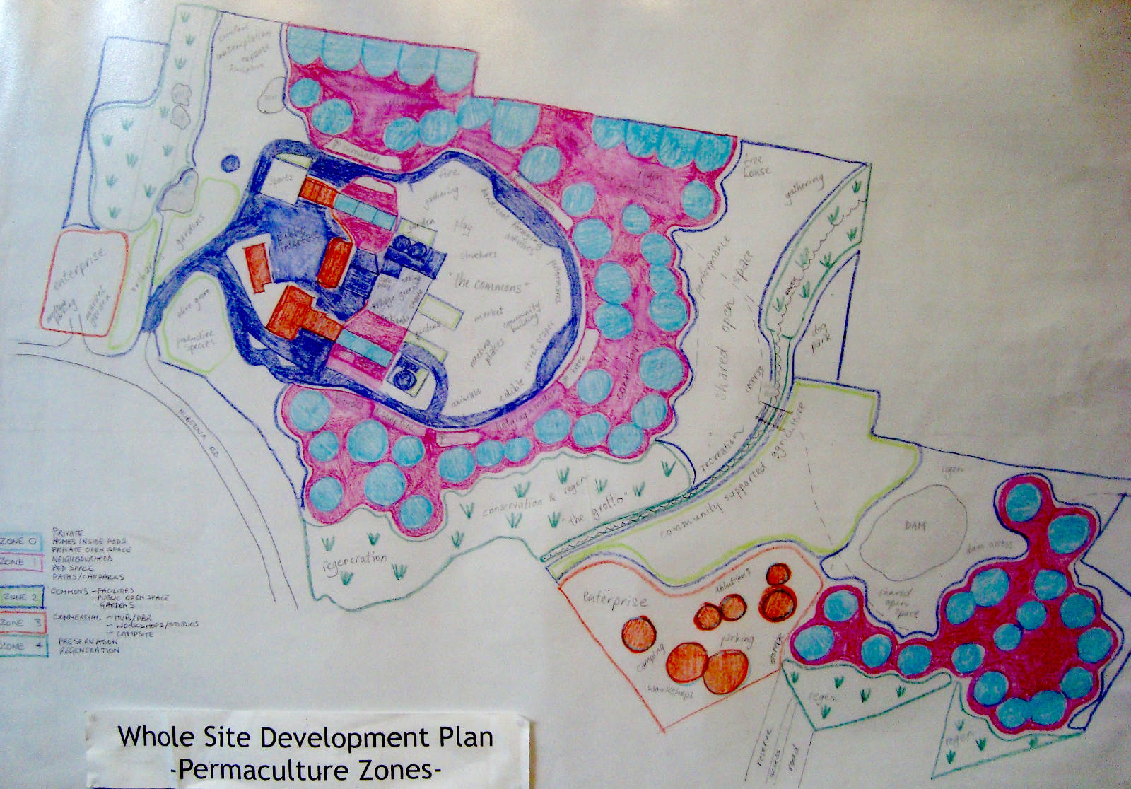 Whole Site Development Plan